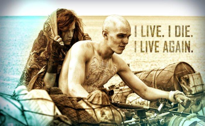 I live, I die, I liveagain.