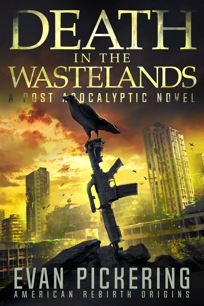 Cover Reveal: DEATH IN THEWASTELANDS